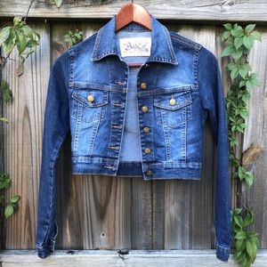 BAD CAT | GIRLS JEAN JACKET SIZE S
